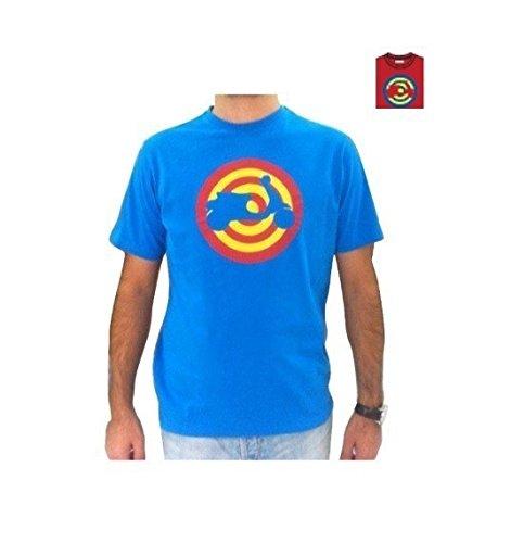Original Vespa Herren T-shirt bersaglio rosso