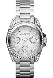 Michael Kors Women's 'Blair' Quartz Stainless Steel Casual Watch, Color:Silver-Toned (Model: MK5612)