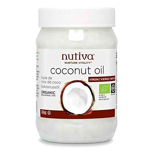Nutiva Organic Virgin Coconut Oil - 444ml