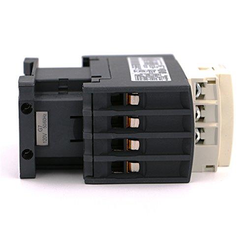 NEW AC Contactor 4P LC1D258 LC1D258G7 LC1-D258G7 40A 120V AC coil by Schneider (Image #3)