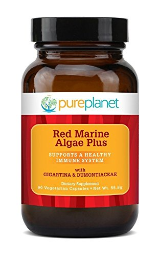 Pure Red - Red Marine Algae Plus Pure Planet Products 90 VCaps