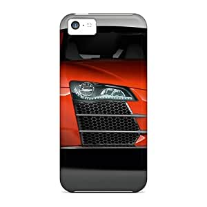 Protective Hard Cell-phone Cases For Iphone 5c (xzA2285ZgHg) Provide Private Custom Nice Audi R8 Skin