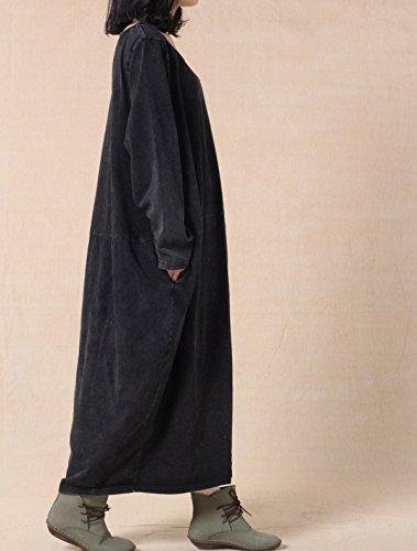 Vogstyle - Vestido - vestido - para mujer gris