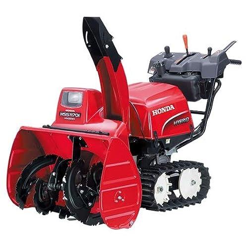 エンジンと電気のいいとこ取り!Honda(ホンダ)ハイブリッド除雪機「HSS1170i(J)」