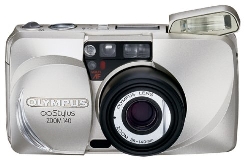 - Olympus Stylus  Zoom 140 QD CG Date 35mm Camera