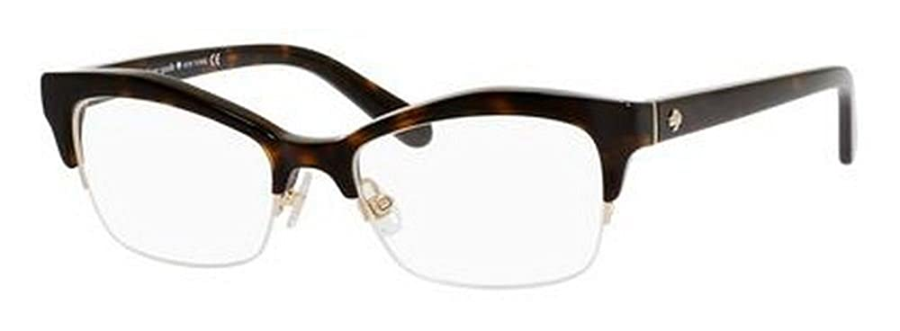 2d471bf547 Amazon.com  Kate Spade Rx Eyeglasses - Lyssa Havana   Frame only with demo  lenses.  Shoes