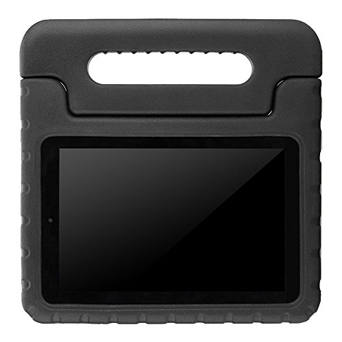 Samsung galaxy Tab e 9.6 T560 EVA Case - ANMANI Kids Friendly Shock Proof, Convertible With Handle Stand Case for Samsung galaxy Tab e 9.6 T560 Tablet Black by ANMANI