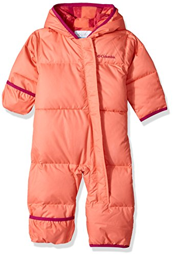 Columbia Baby Boys' Snuggly Bunny Bunting, Hot Coral,