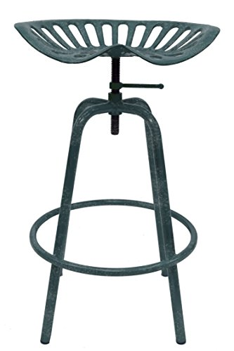 Leigh Country TX 97002 Tractor Seat Stool-Gray, Grey by Leigh Country (Image #5)