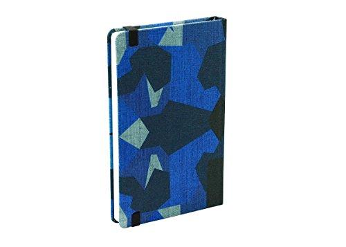 NAVA Pattern Notebook Journal, Camouflage Blue