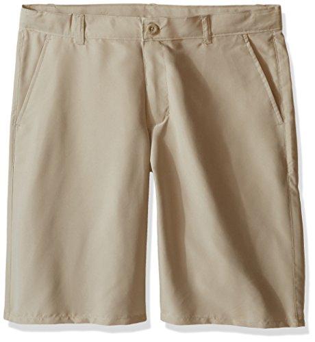 (Nautica Boys' Little Boys' Uniform Performance Short, Khaki, 5)