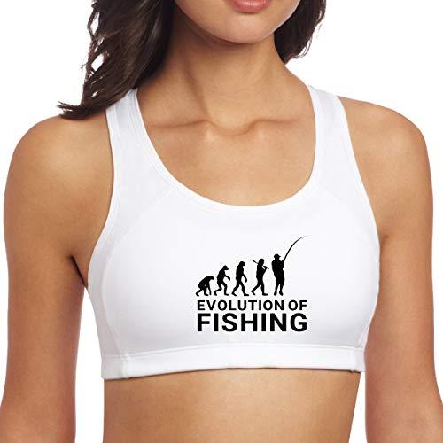 (YUANSHAN Yoga Vest Bra Evolution of Fishing Fashion Workout Sport Gym Clothes Fitness Yoga Vests Tank Tops Activewear)