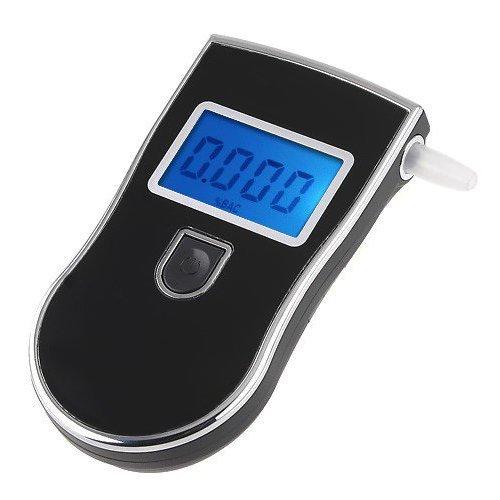 LinGear LCD Digital Alcohol Tester, Portable Analyzer Pol...
