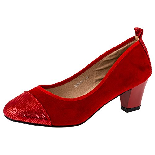 CinkMe Women's Court Shoes #238rt Rot