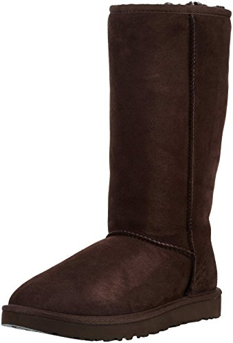 (UGG Women's Classic Tall II Winter Boot, Chocolate, 8 B US)
