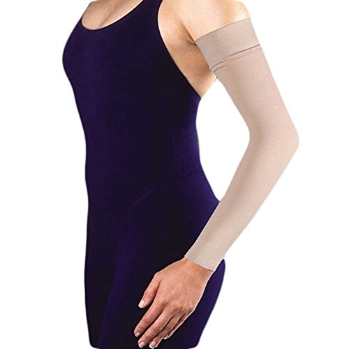 Women's 20-30 mmHg Arm Sleeve Size: Small, Color: Black