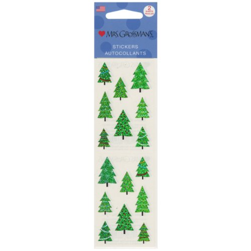 Mrs. Grossman's Stickers-Christmas Tree (Tree Stickers)