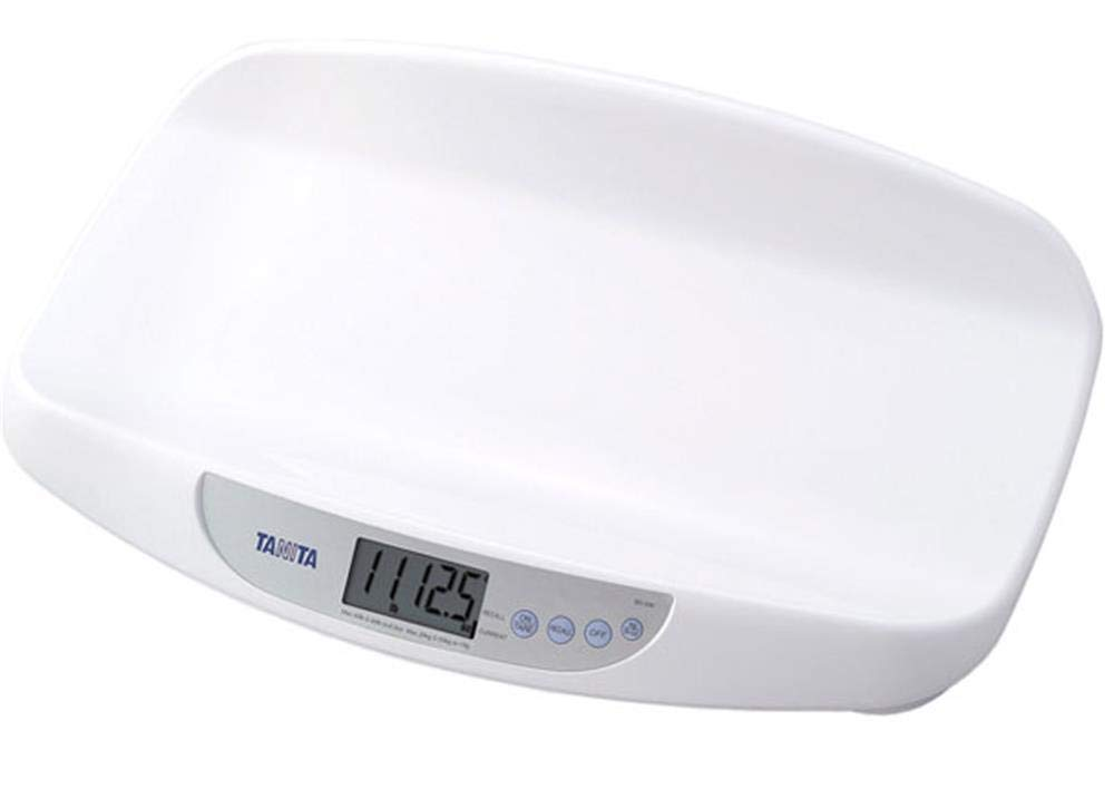 Tanita BD-590WH36 Electronic Bathroom Scale for Babies, Portable, Very Accurate