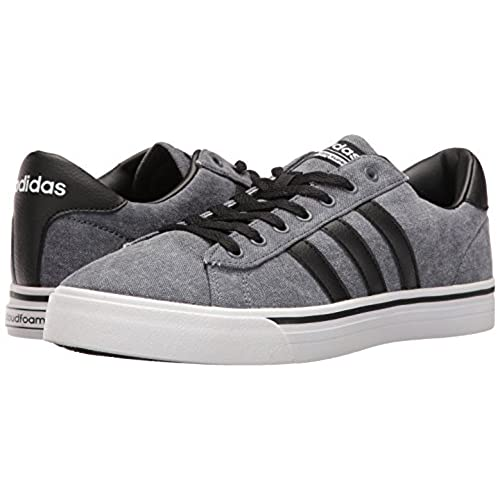 new arrival 38949 11b39 adidas Mens Shoes  Cloudfoam Super Daily Fashion Sneakers,  BlackBlackWhite,