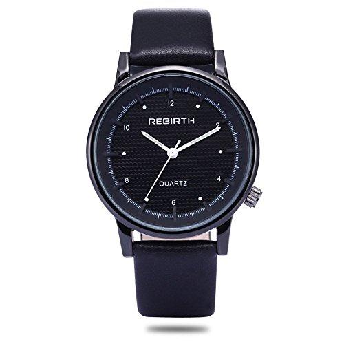 Woman, quartz watch, fashion, personality, leisure, outdoor, PU leather, - Fashion Plaza Mall