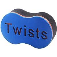 Soft Men Dual Use Soft Magic Twist Hair Brush Sponge for Natural Afro Coil Wave Dread Sponge Brushes Tools