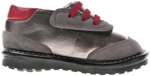 HLT Toddler//Little Kid Boy Decorative Shoelace Hook/&Loop Closure Squeaky Shoe