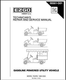amazon com ezgo 27206g01 1991 1996 repair manual for gas marathon rh amazon com 1985 ez go marathon manual 1989 ez go marathon manual