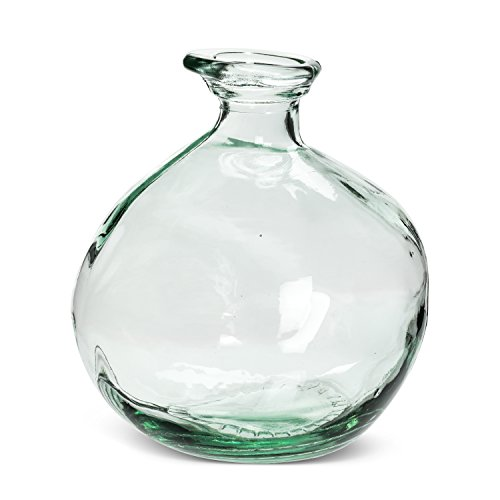 Abbott Collection 83-ORGANICO-2452 Small Vase, 6.5'', Clear by Abbott Collection