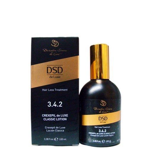 DSD Simone Deluxe Hair Loss Treatment 3.4.2 Crexepil De Luxe Classic Lotion 3.38oz by Divination Simone De Luxe