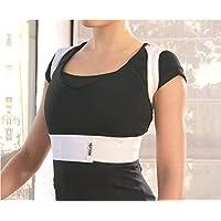 PTM Wellbrace - Adjustable Back-Posture Corrector - Elastic - Different Sizes & Adjustable for Custom Fitting & Comfort…