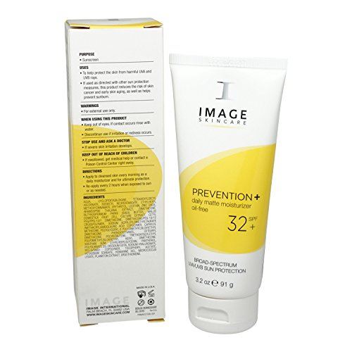 Image Prevention + Daily Matte Moisturizer Oil Free SPF 32,3.2oz