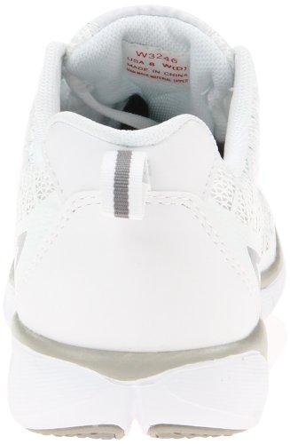 Propet Sneaker Da Donna Da Viaggio Sportivo Bianco / Argento