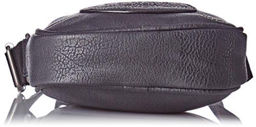 Kaporal Ognan - Borse a mano Uomo, Noir (Black), 14x29x37 cm (W x H L)