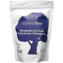 OrganicTree ashwagandha root powder, 454 Gram