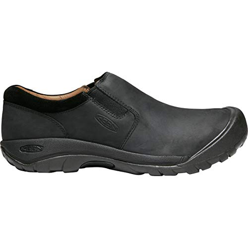 KEEN Men's Austin Casual Slip-ON Shoe, Black/Raven, 10 M US