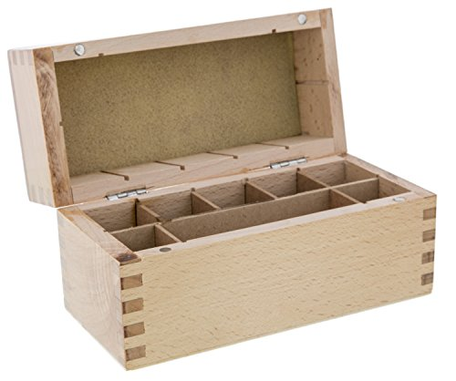 Gold Test Box, 8 Compartments | - Stores Beachwood