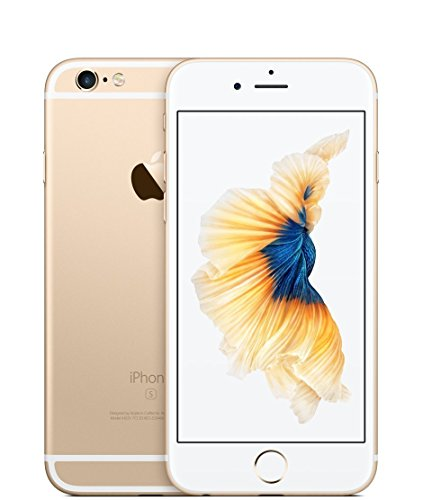 Apple iPhone 6S Plus, GSM Unlocked, 128GB – Gold (Certified Refurbished)