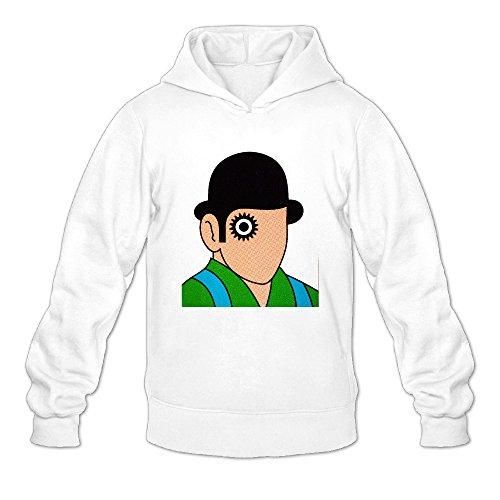 Men's A Clockwork Orange Restro Vintage Hooded Sweatshirt Pullover