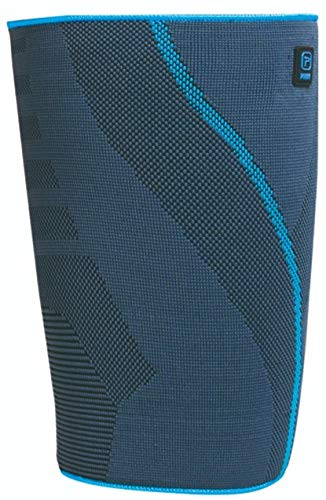 AQTIVO Sport Thigh Support, Medical Grade Compression – Premium Anti Slip Breathable Knit Compression Sleeve for Hip, Quad and Hamstring Support for Sports and Injury Recovery, Single, Medium