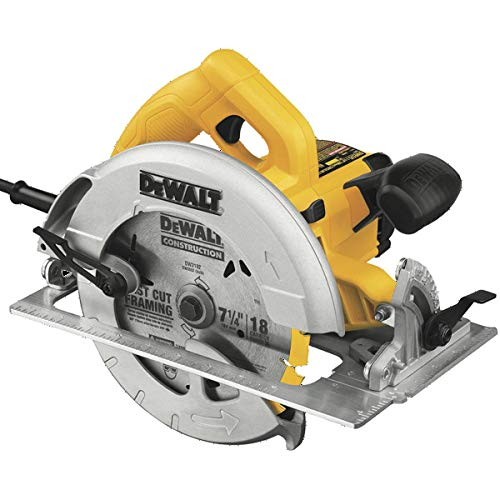 Dewalt DWE575SBR 7-1/4 in. Next Gen Circular Saw Kit with Electric Brake (Renewed)