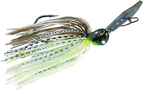 Z-man CBJH38-08 Chatterbait Jack Hammer Lure, 5/0 Hook Size, 3/8 oz,