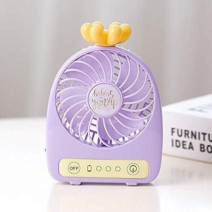 baoyueshangmao - Mini USB Fan Escritorio portátil piña ...
