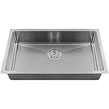 Mr direct 2905s 18 single bowl 34 radius stainless steel sink mr direct 2905s 18 single bowl 34 radius stainless steel sink workwithnaturefo