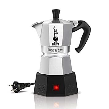Espressokocher  Amazon.de: Bialetti Elektrika 110 Volt / 230 Volt Elektrischer ...