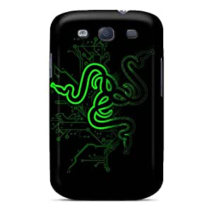 MarcClements Samsung Galaxy S3 High Quality Hard Phone Case Custom Colorful Razer Pictures [Yxw10938eBJD]