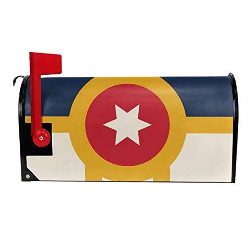 Tulsa Flag Unique Mailbox Covers Magnetic Mail Cover Decorative Mailboxes 18