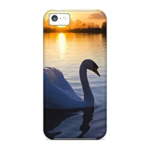 New Mute Swan Tpu Skin Case Compatible With Iphone 5c