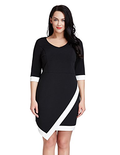 LookbookStore Asymmetric Bodycon Length 12W 32W