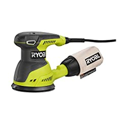 If there are flat or rounded wooden surfaces that need the grit and splinters taken off, the the Ryobi RS290G is the tool to do it right. It's a compact unit that weighs in at only 4 pounds, letting you put your focus into hitting the spots y...