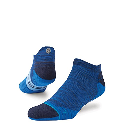 STANCE Mens Run Uncommon Solid Low Tab Socks, Royal Blue, Large